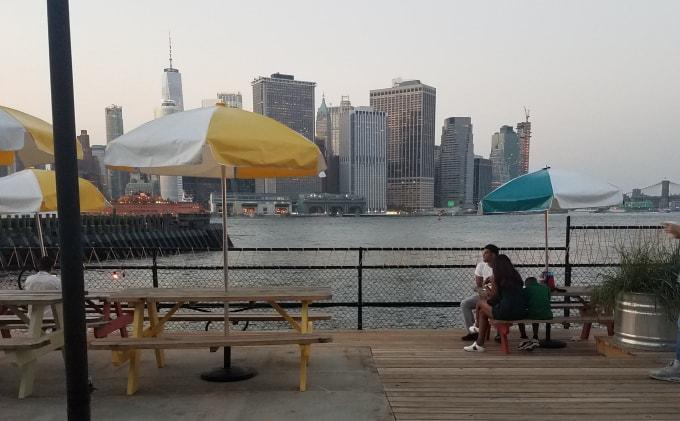 Taco Vista on Governor's Island NYC
