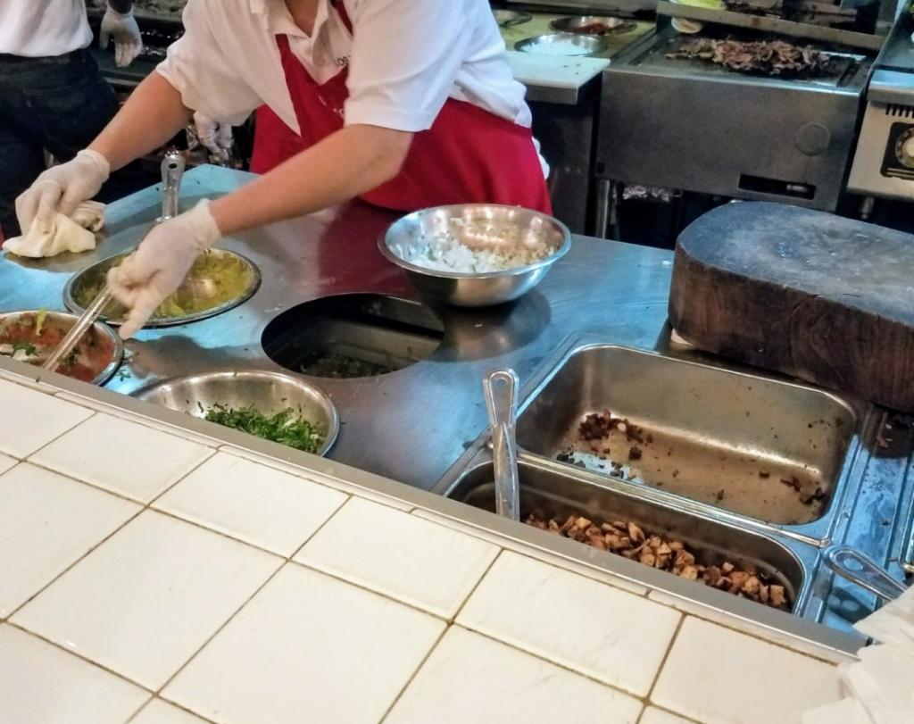 Cooking at Los Tacos No. 1 NY,NY