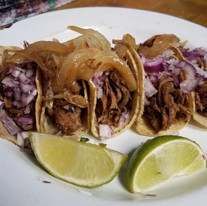 Barbacoa Tacos - El Grito - Dublin, Ireland