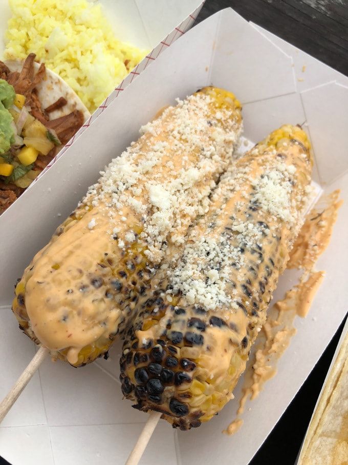 Millie's Nantucket Mexican Street Corn