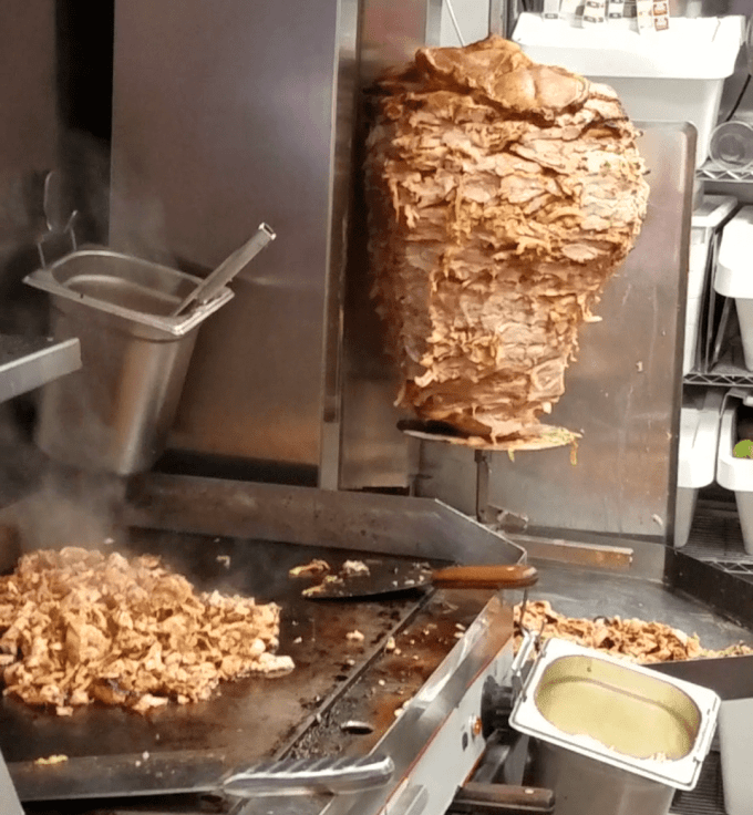 Cooking Al Pastor at El Grito -Dublin, Ireland