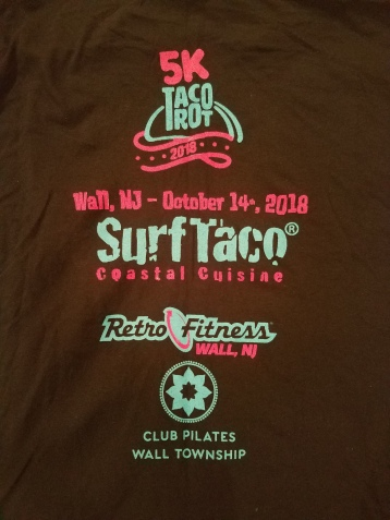 Taco Trot T-shirt back