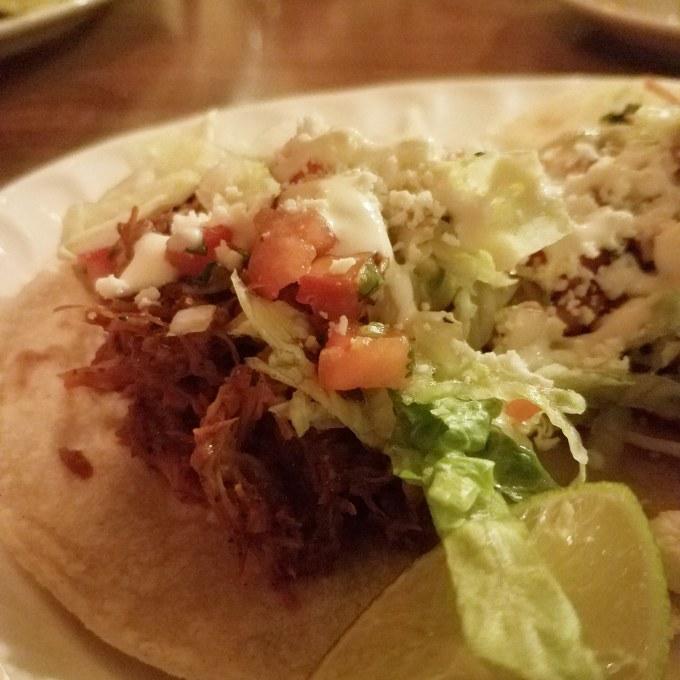 Goat Tacos at Luna y Sol