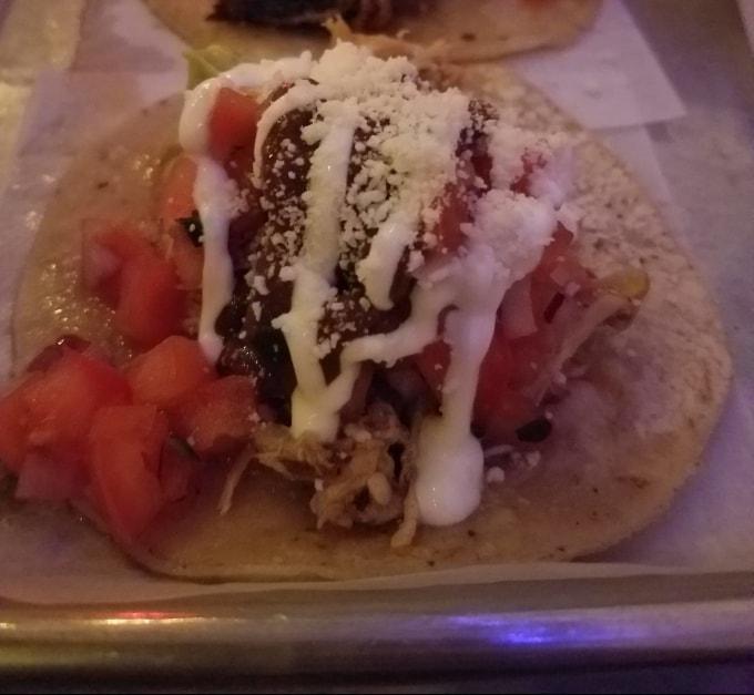 Flats Fix Smoked Pulled Chicken Taco - New York, NY