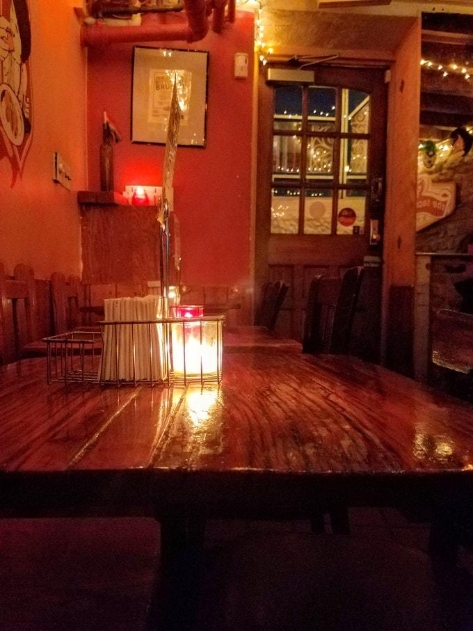Interior of The Taco Shop - West Village, NY, NY