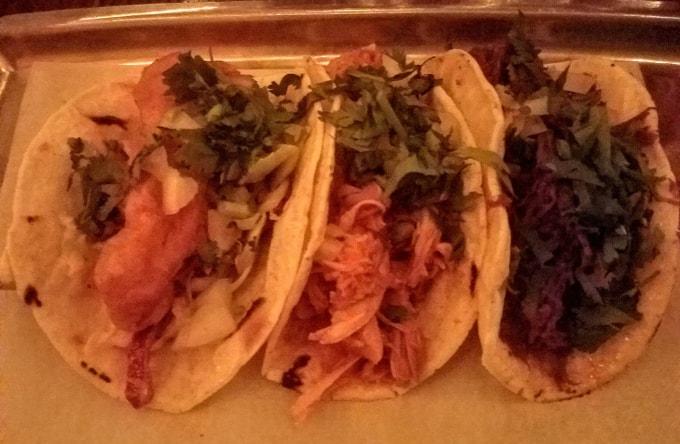 Tacos at The Taco Shop - West Village, NY