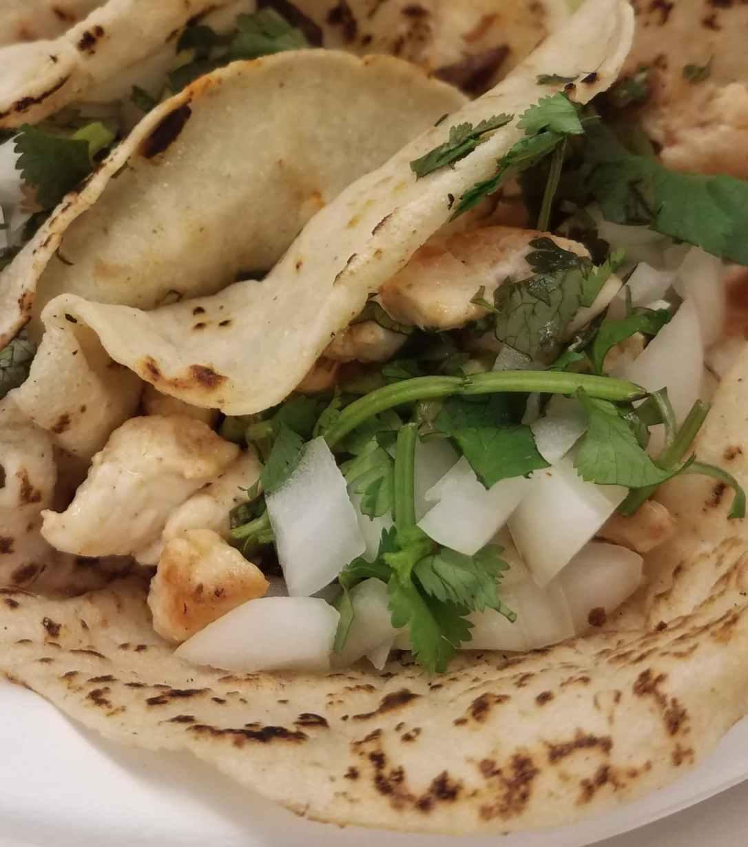 Chicken Tacos - Azteca Taqueria