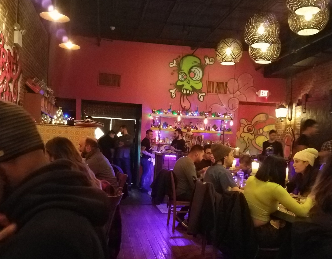 Inside Orale Mexican Kitchen - Jersey City