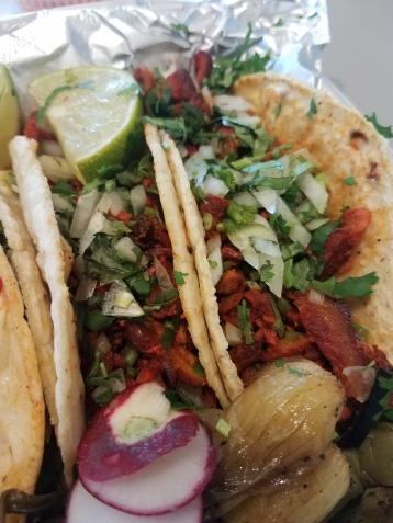 Al Pastor tacos from El Tio Taco -West New York, NJ