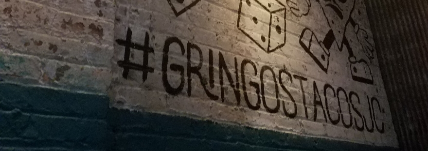 Some wall art at Gringo's Taco Jersey City