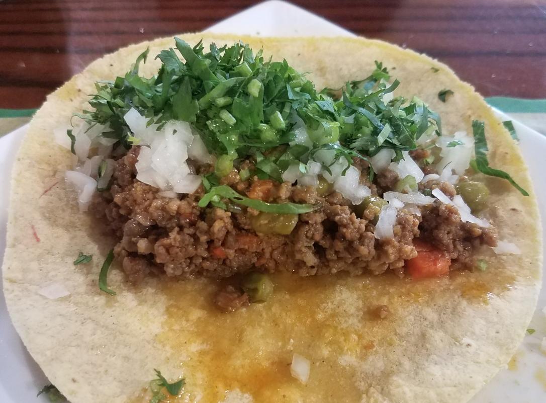 Picadillo Tacos - Tacos Victoria -Jersey City, NJ