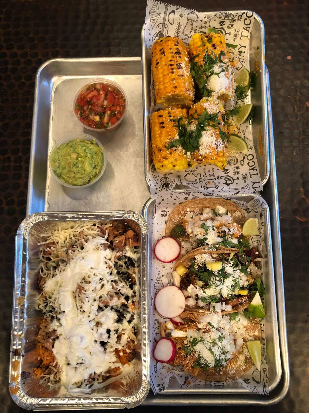 Mexican food goodness - Tacoria - Jersey City, NJ
