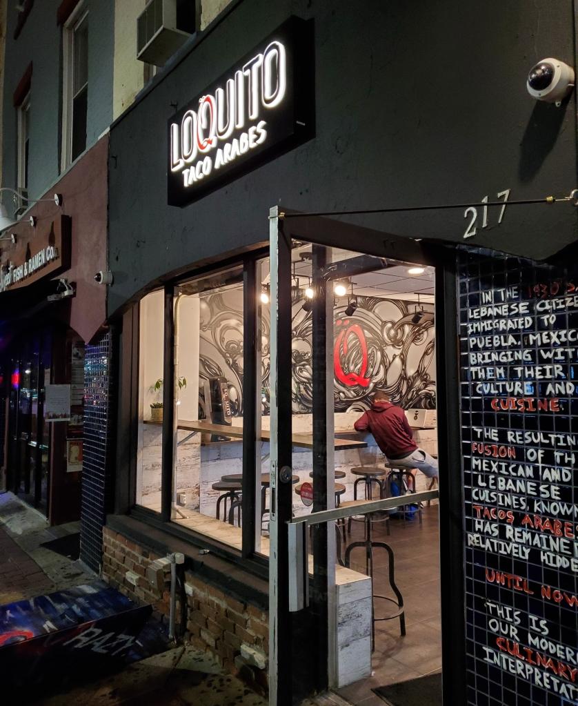 Loquito Lebanese Tacos - Hoboken, New Jersey