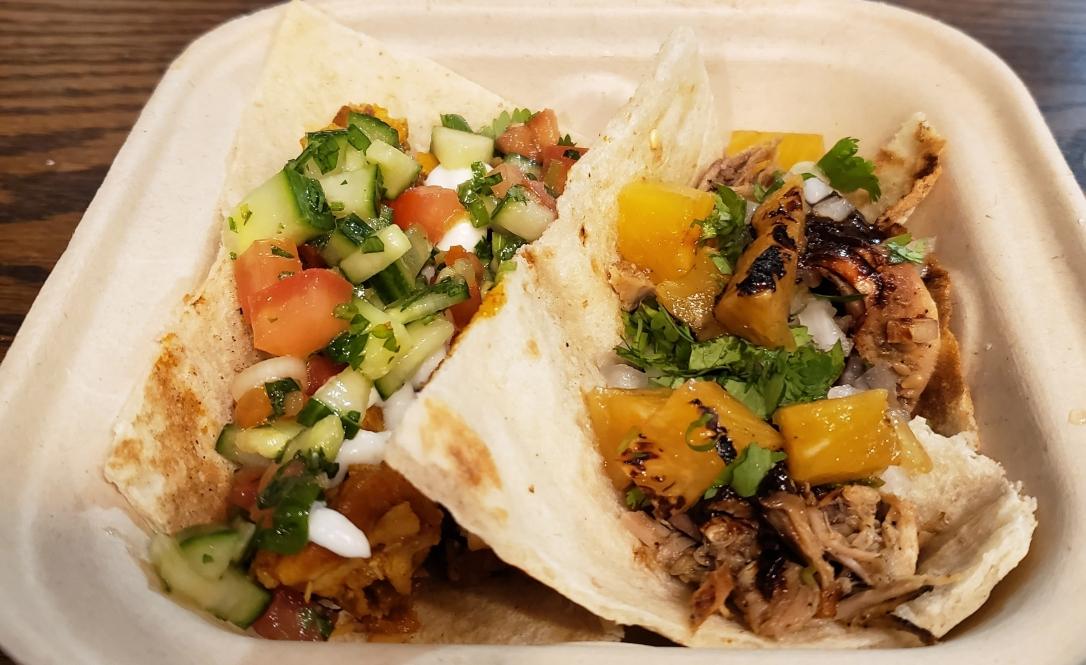 Shawarma and Al pastor tacos - Loquito - Hoboken, New Jersey