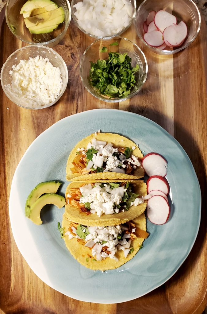 Chicken Chipotle Tinga Tacos