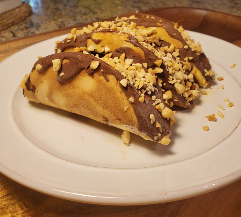 Finished Choco Tacos