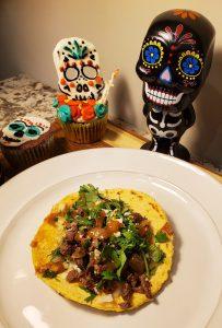 Dia de los Muertos tacos